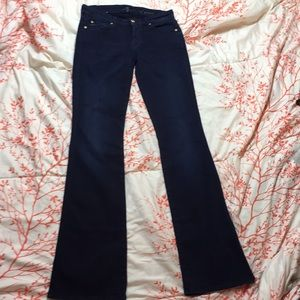 7 For All Mankind 'A' Pocket Flair Jeans Sz 28